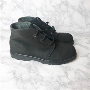 LL Bean Kids Thinsulate Leather Boots